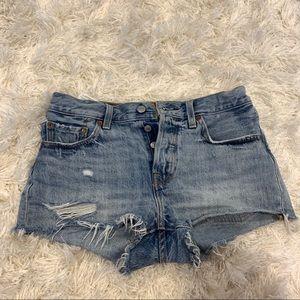Levi's 501 Denim Women's Shorts